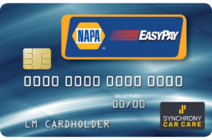 Apply for the NAPA EasyPay Credit Card by Synchrony.